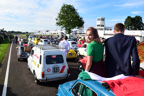 Fiat 500 Parade, Goodwood Revival 2017