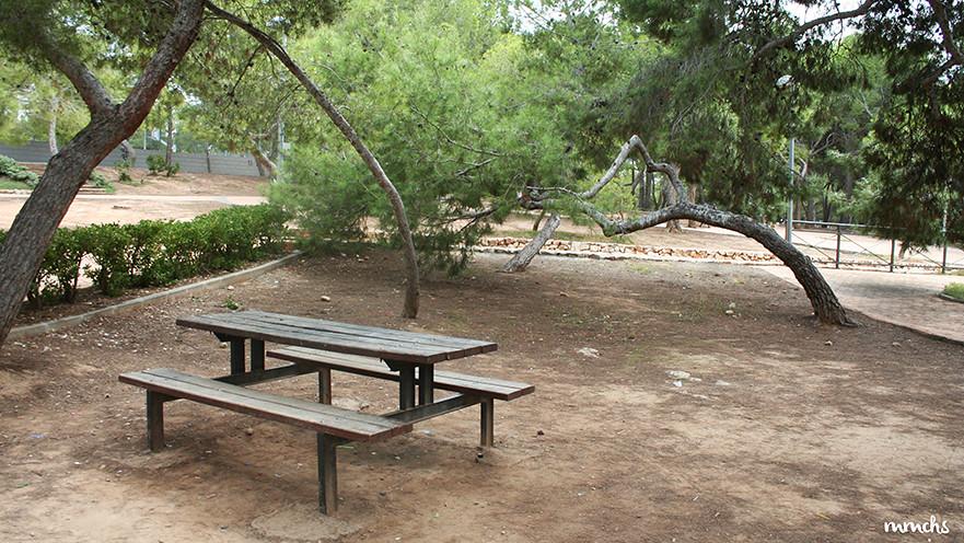 parque de la pinada la cañada