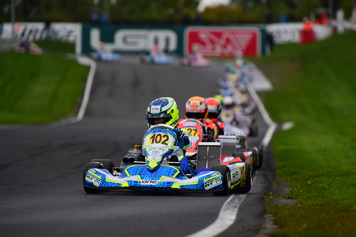 Harry Thompson, OK-Junior, CIK-FIA Karting World Championship, PF International Kart Circuit 2017