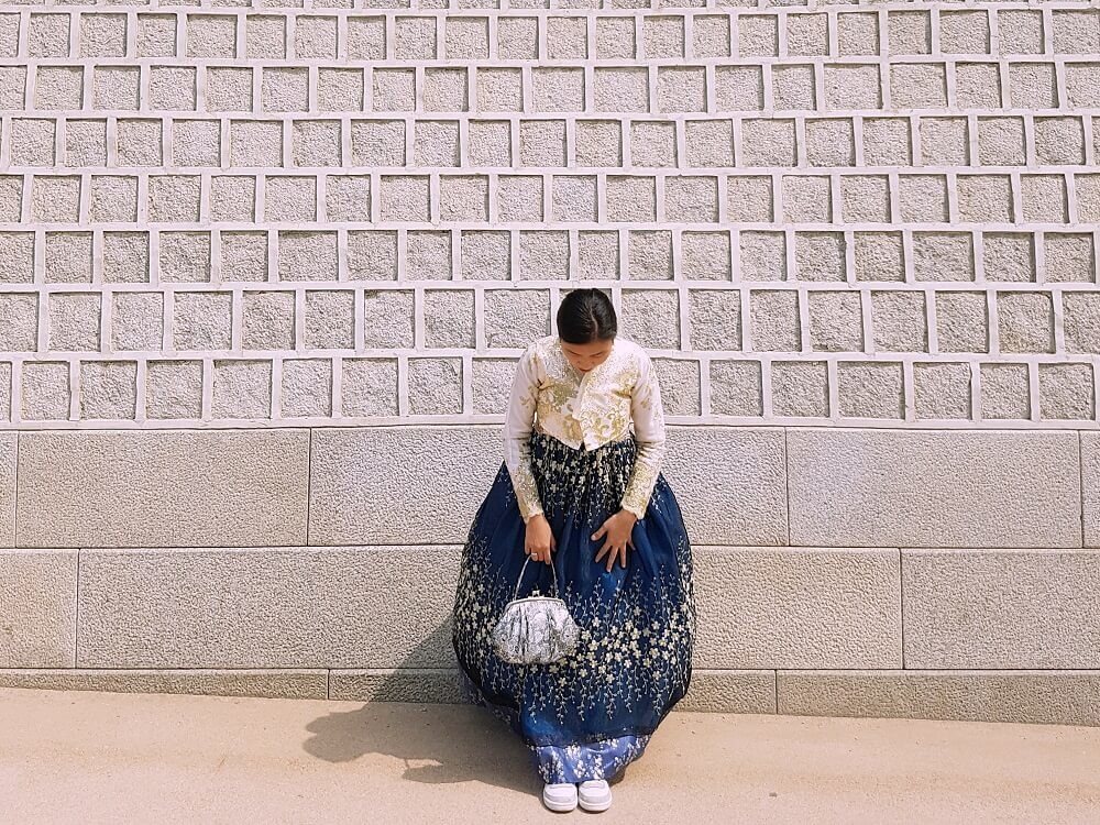 outside gyeongbokgung
