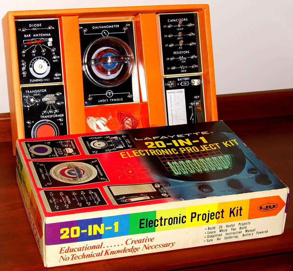 Electronics Project Kit Designed Learn Medical Snap Circuits Pro 500in1 Experiments Click To Enlarge 99 Vintage Lafayette 20 In 1 Electronic Stock No