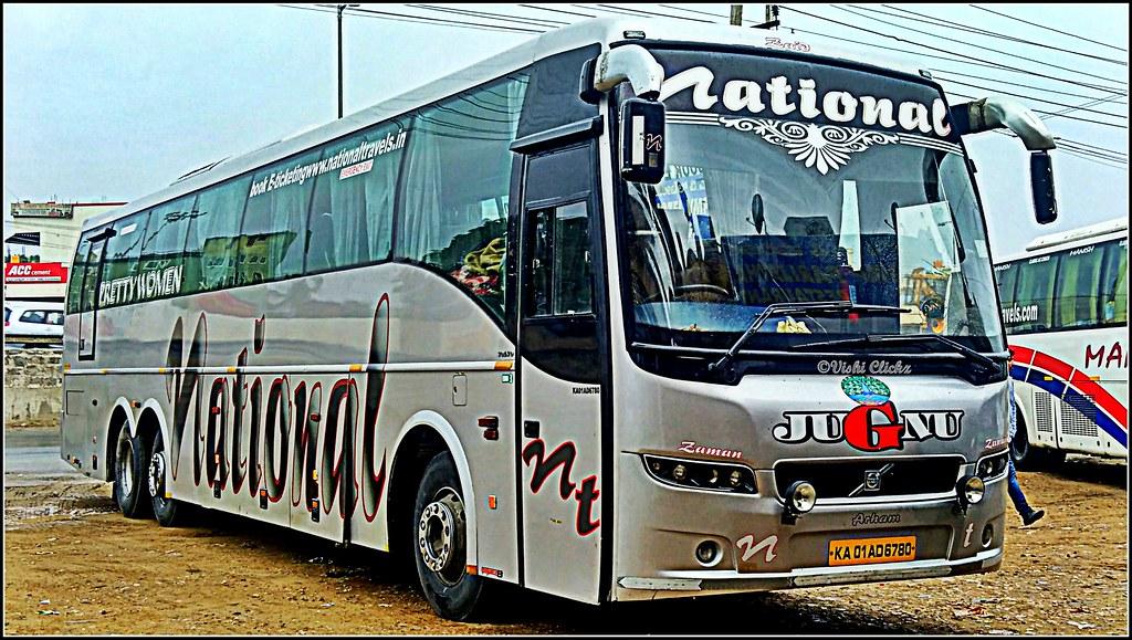 National Travel Volvo B9r Semi Sleeper Bus Vishal Mehta Flickr