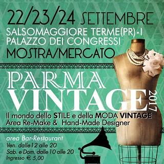 Parma Vintage Settembre 2017