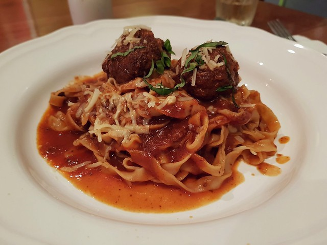 Tagliatelle Italian Meatballs