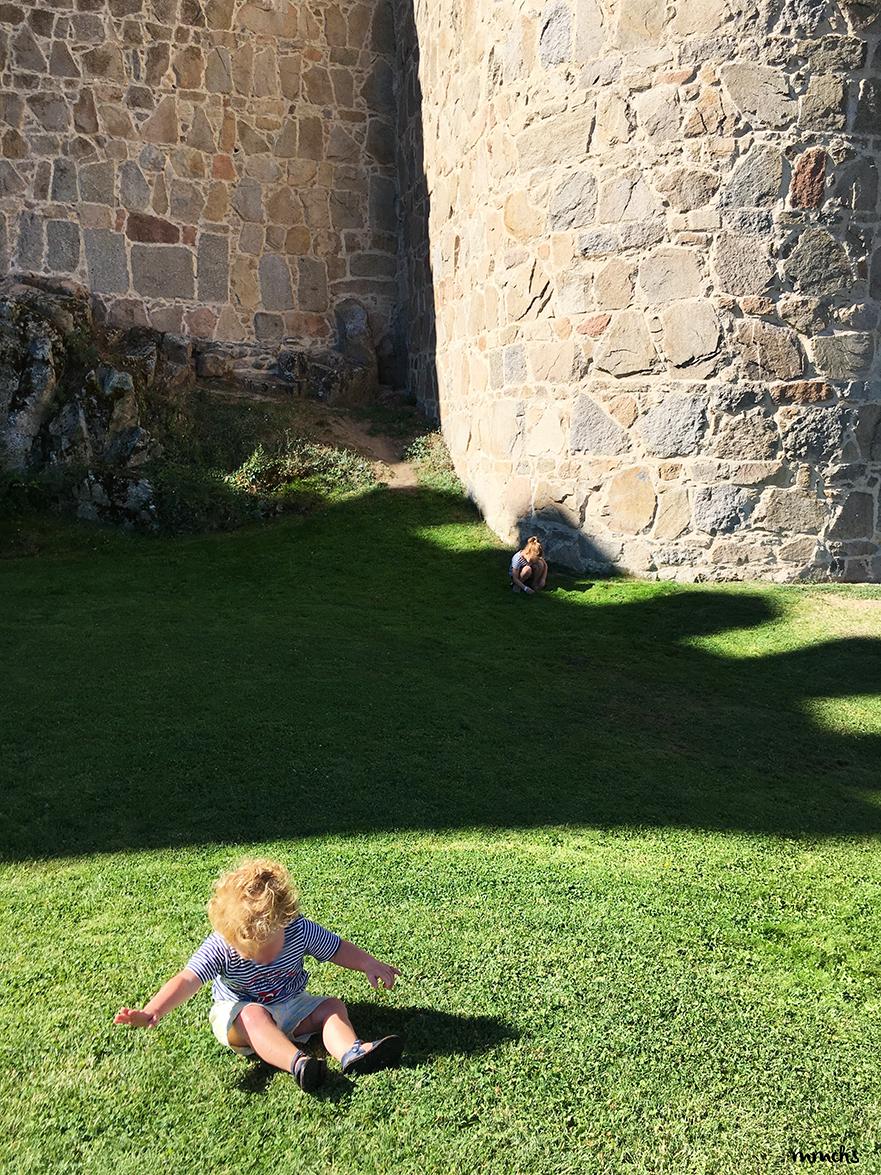 Ávila con niños