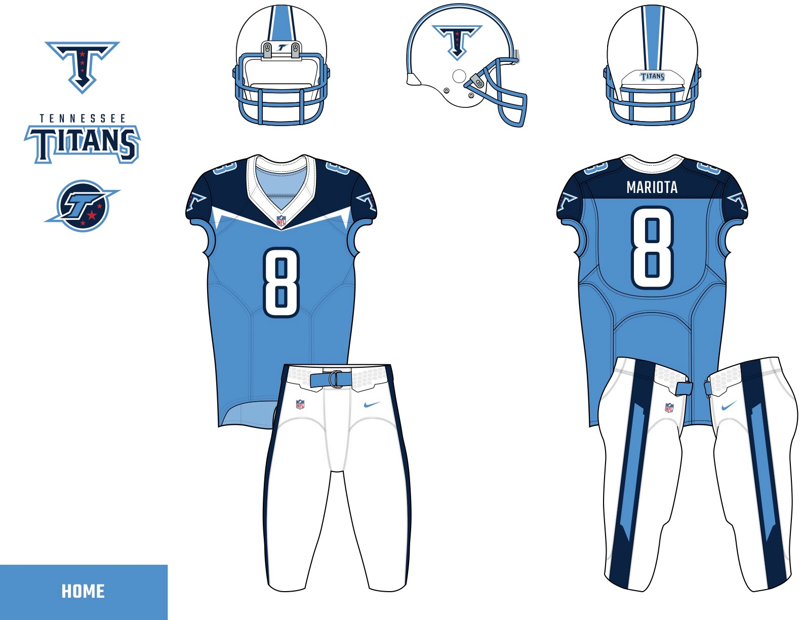 38883f6e30f The readers deliver their submissions for the Titans' uniform redesign