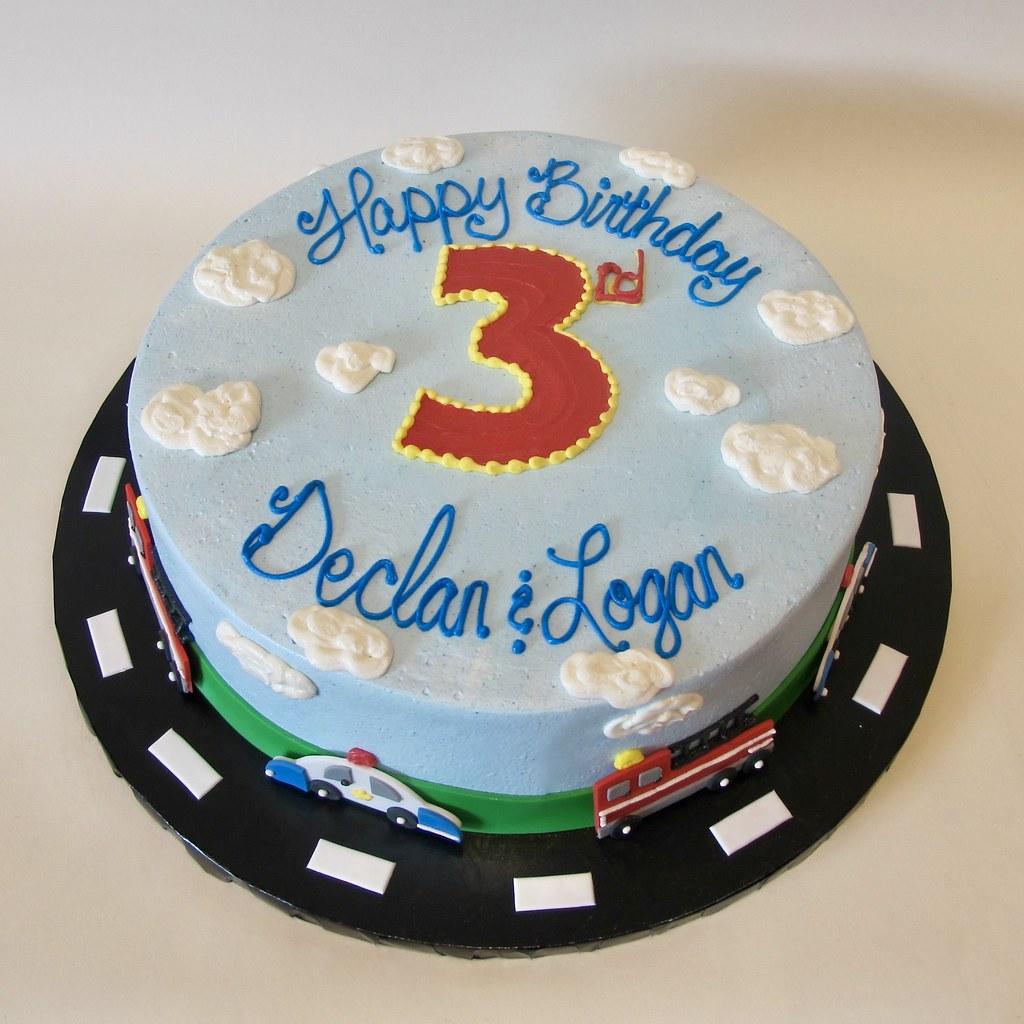 Police Fire Engine Birthday 301081 Creative Cakes Tinley Park