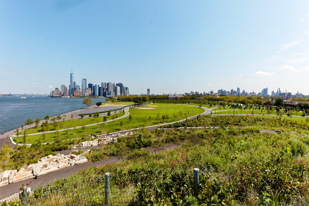 Governor's Island, view of Manhattan
