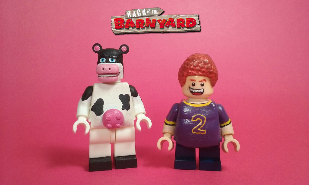 lego back at the barnyard otis and snotty boy two commiss flickr