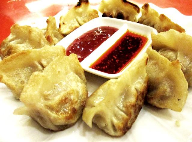 Restoran Muhajirin beef dumplings