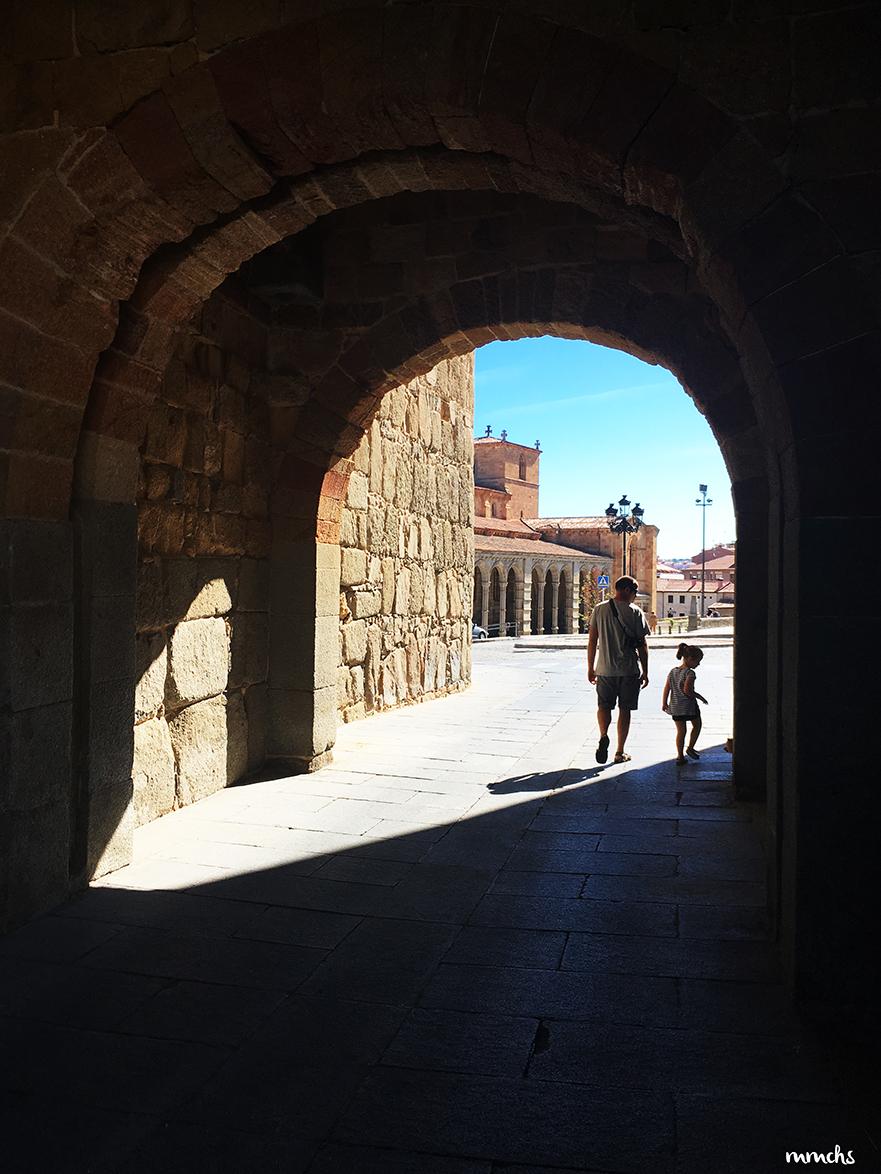 Visitar Ávila con niños