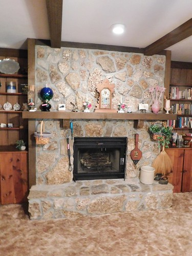 Stone fireplace | by thornhill3
