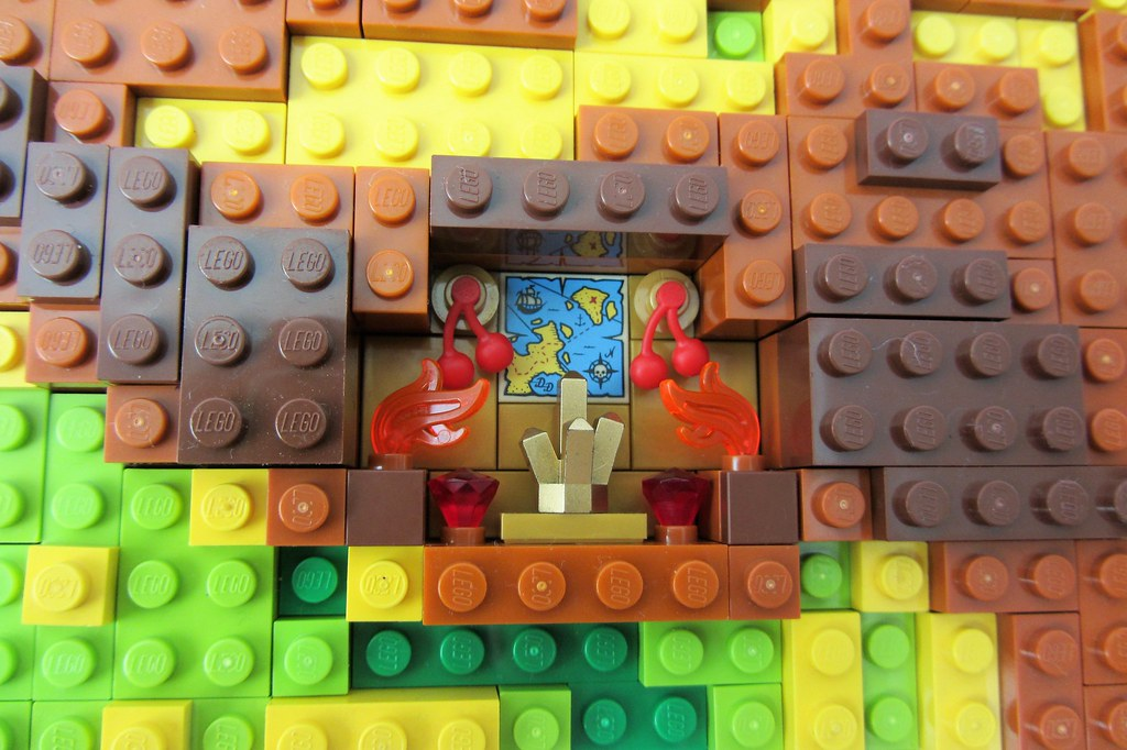 ... Dirks LEGO World Map 22 Decoration Treasure | By Dirkb86