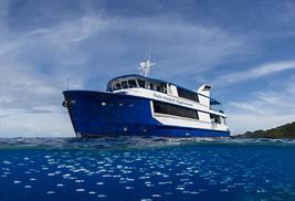 Raja Ampat Aggressor Vida a bordo Indonesia