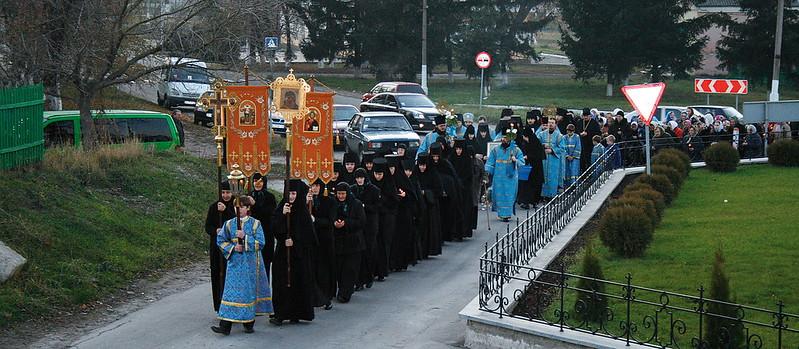 Встреча иконы Божией Матери «Всех скорбящих Радость». 5 ноября 2008 г.