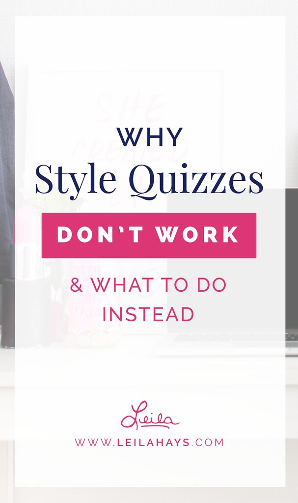 Why Style Quizzes Don't Work