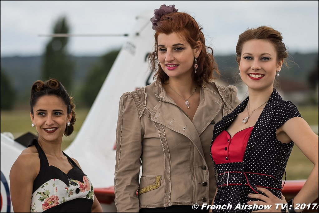 PIN UP , Legend Air en Limousin 2017 , aérodrome de Saint Junien 2017 , Meeting Aerien 2017