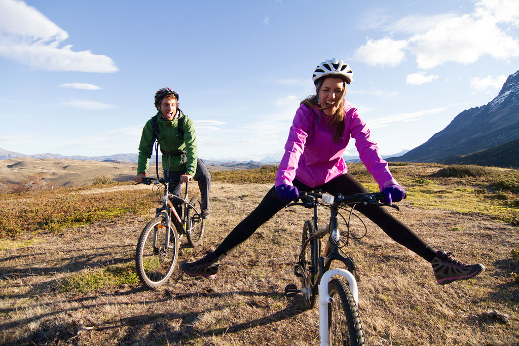 Biking in Torres del Paine