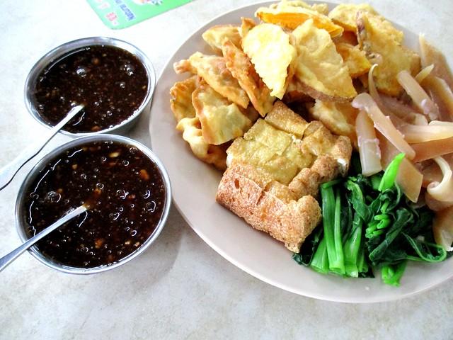 Sotong kangkong, Sibu style