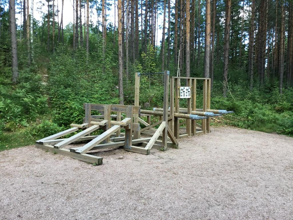 Kuva toimipisteestä: Latokasken kuntorata / Ulkokuntoiluvälineet