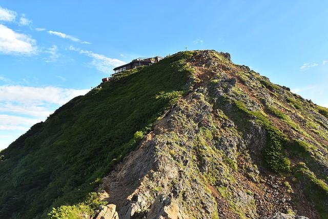八ヶ岳登山 赤岳山頂へ