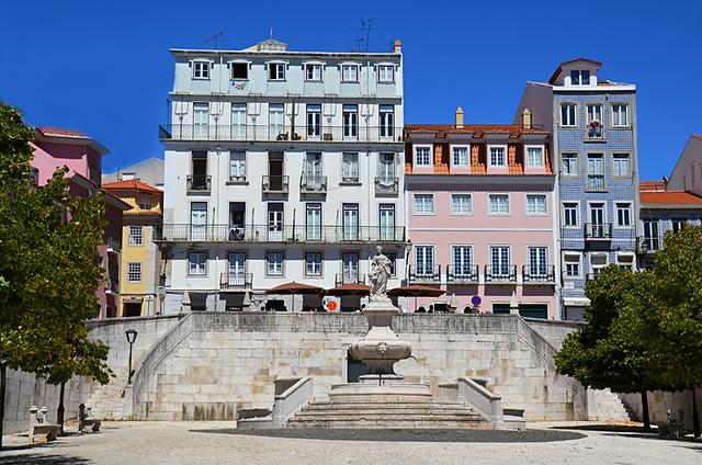 Quiet square, Lisbon