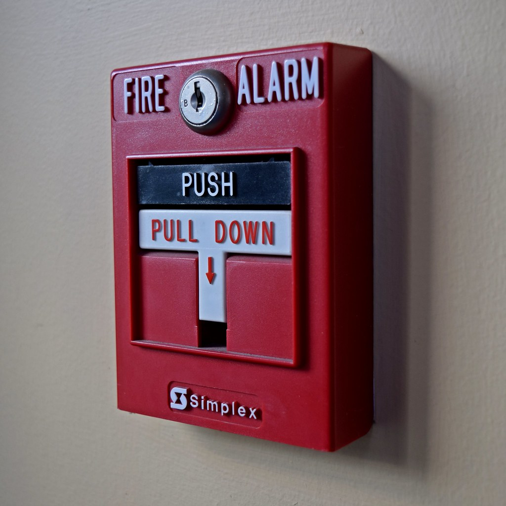 simplex pull station simplex dual action fire alarm pull s flickr
