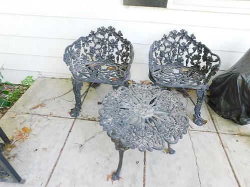 Wrought iron settee | by thornhill3