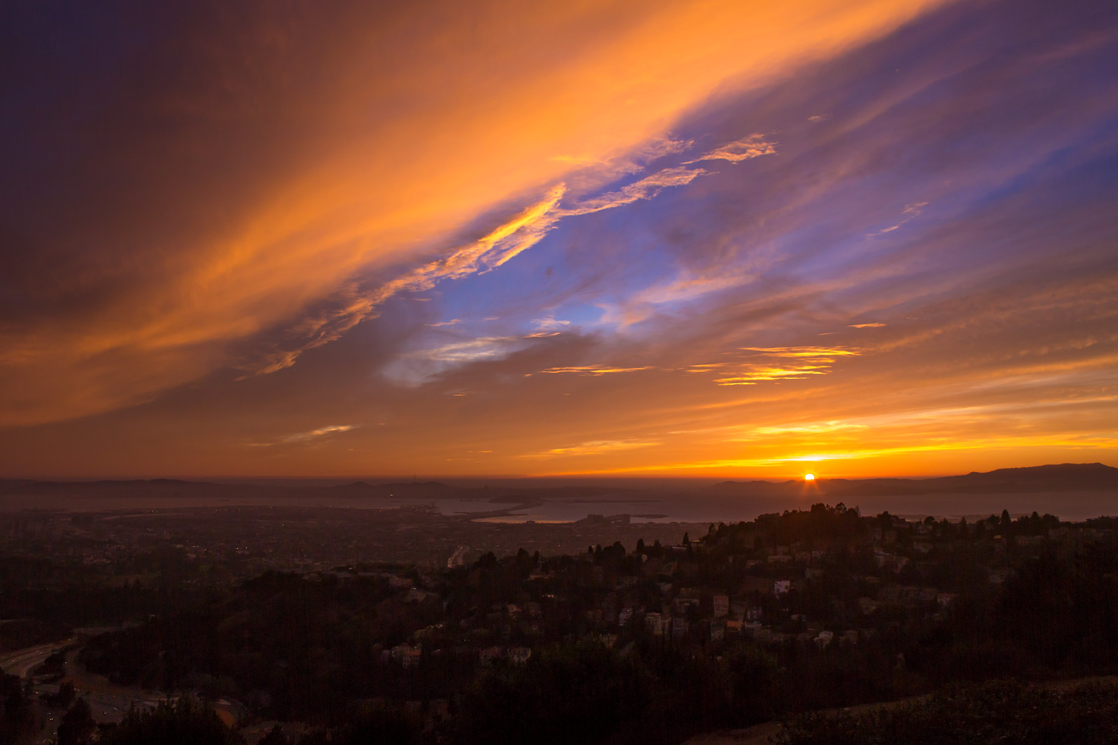 Sunset Over the San Francisco Bay | by Thomas Hawk