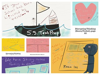 Disrupting Thinking Doodle Collage | by Dogtrax