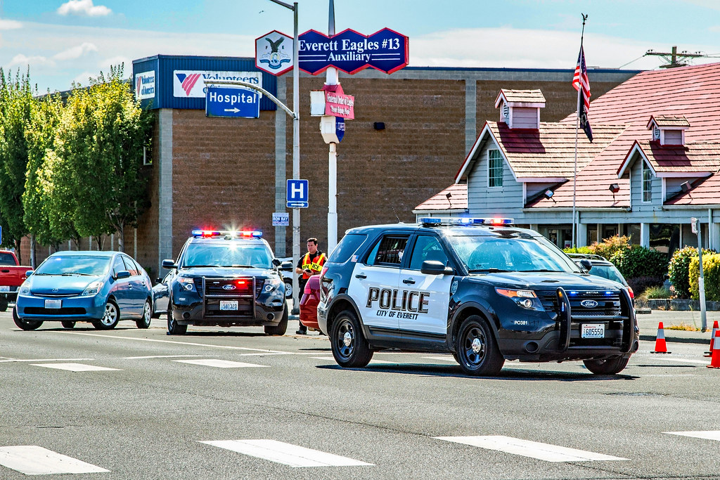 Everett Police Department 2015 Ford Police Interceptor Uti