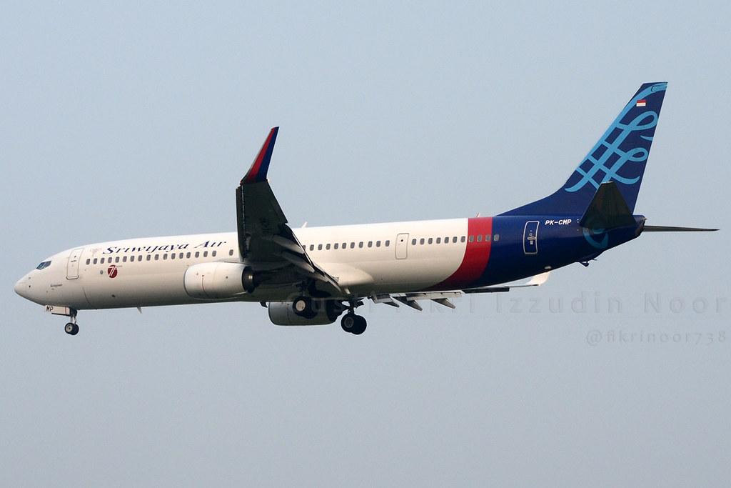 Sriwijaya Air Boeing 737-900ER | Flickr by @fikrizzudinoor