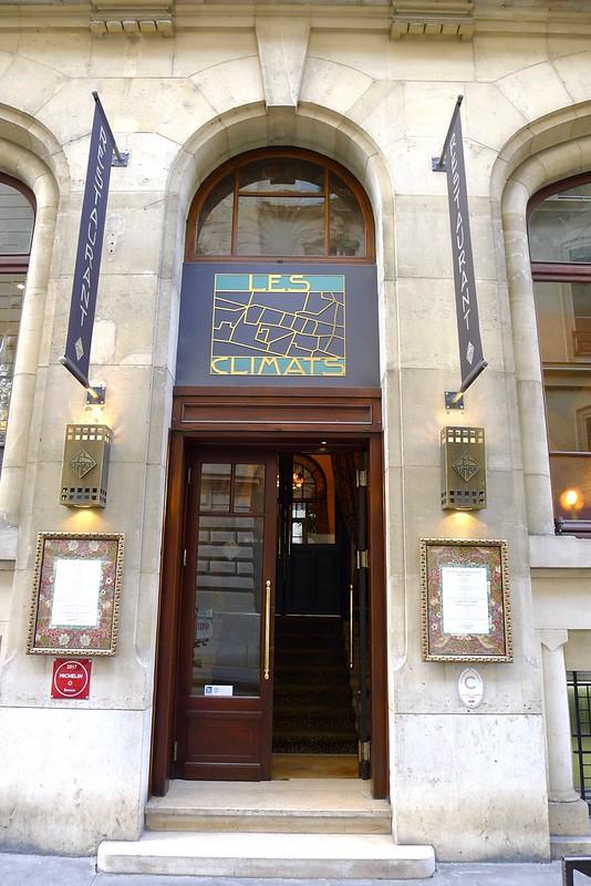 Restaurant Les Climats, Paris
