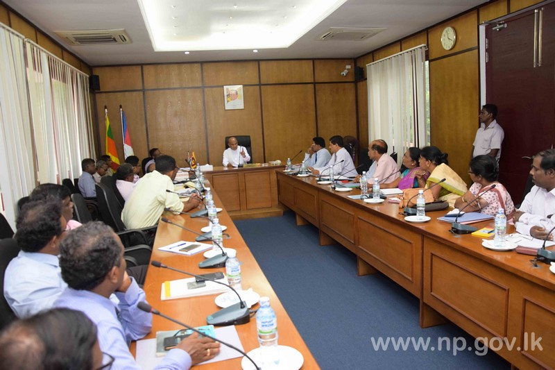 Discussion with Officials of Educations Ministry