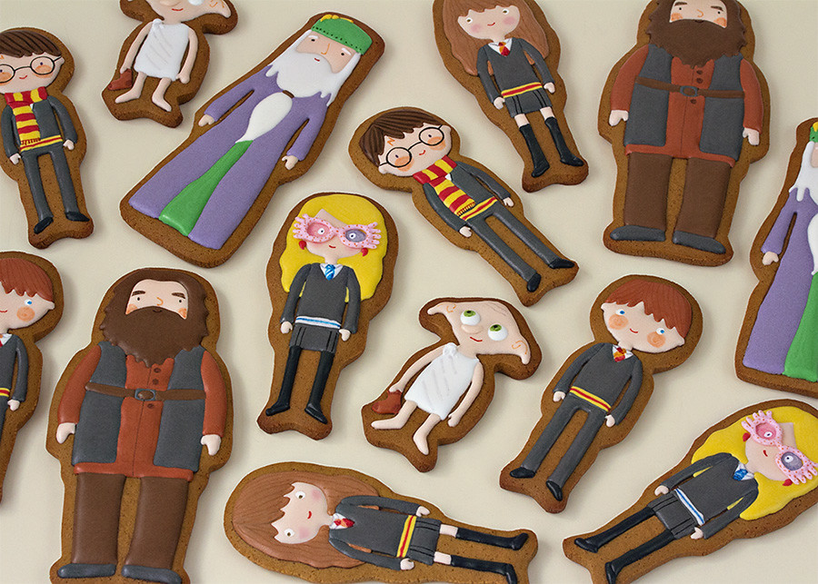 Harry Potter galletas decoradas