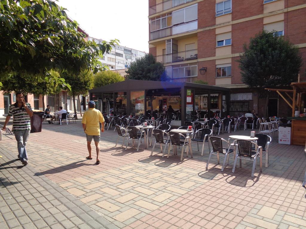 Las Terrazas Ocupan Toda La Plaza Iu Valladolid Flickr