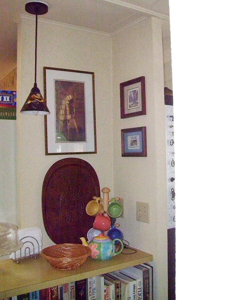 corner nook over breakfast bar