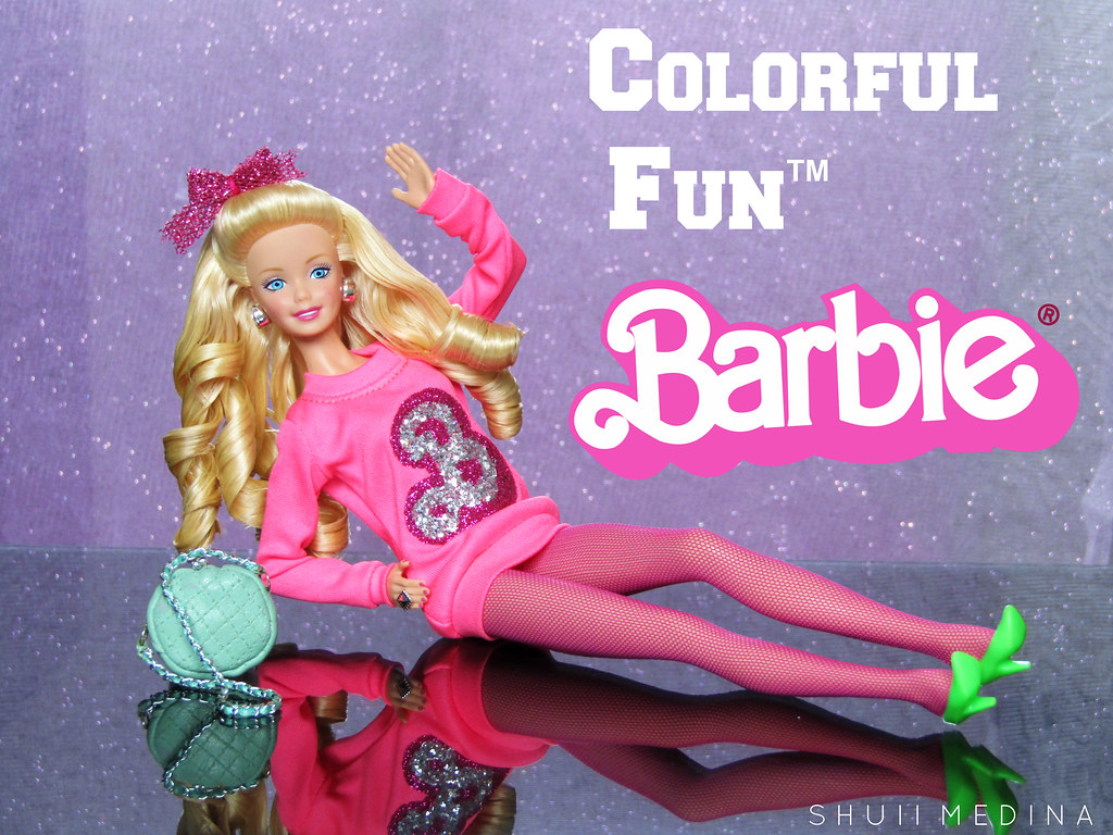 Colorful Fun Barbie | Jesus Medina | Flickr