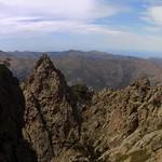Castiglione - Vetta di Muru - Ascu par l'arête NW du Traunatu