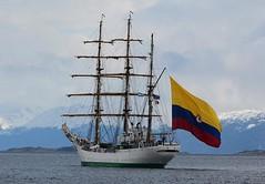 Buque Gloria - Foto Cortesía Embajada de Colombia en Francia