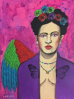 35 - Frida Kahlo | by Pict Ink