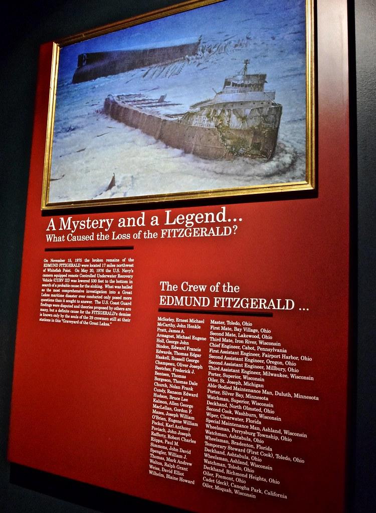 SHIPWRECK MYSTERY SS Edmund Fitzgerald