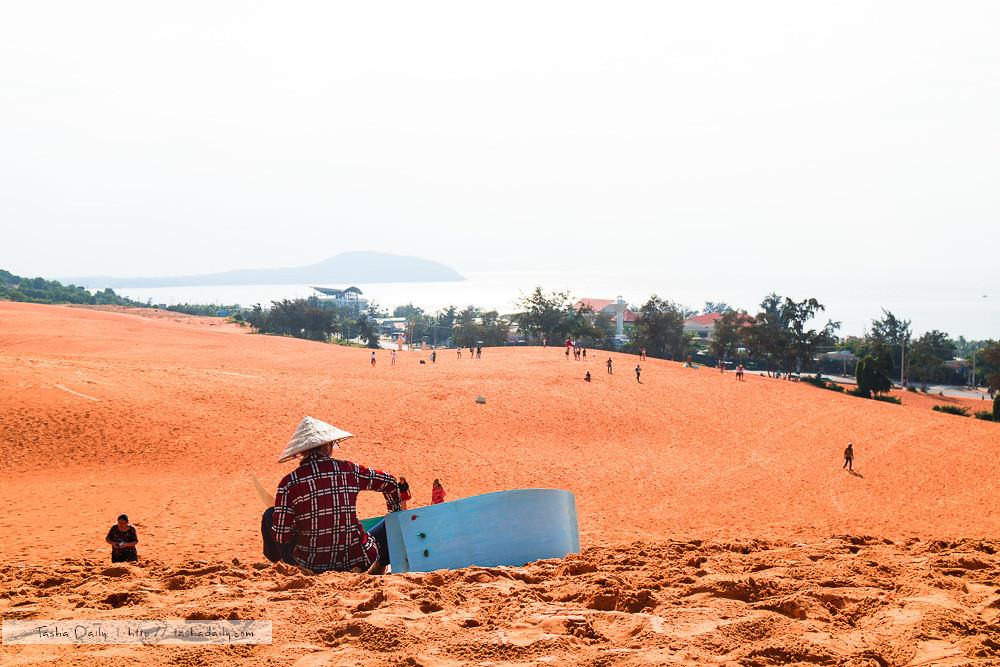美奈自由行︱紅砂丘-Red Sand Dunes.火紅沙景、180度市區海景的一覽無遺