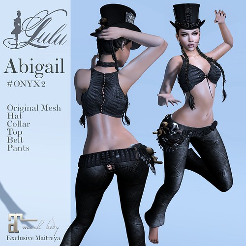 Abigail_Onyx2 | by LuLu ♛MISS-SL France 2016