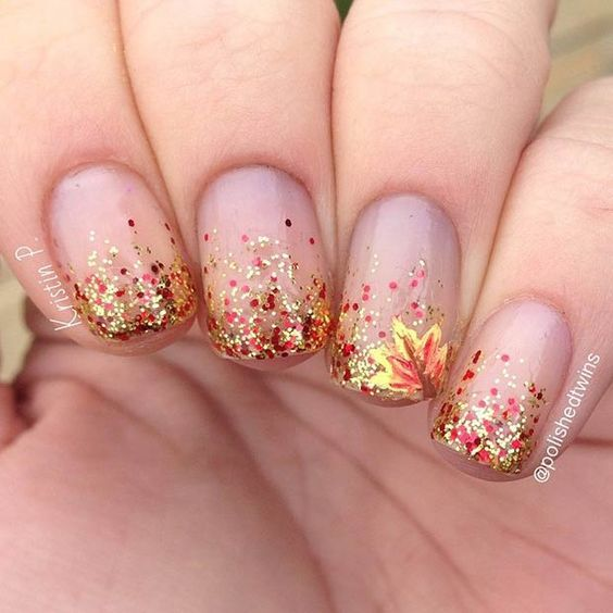 @polishedtwins Amazing nail designs to try this fall