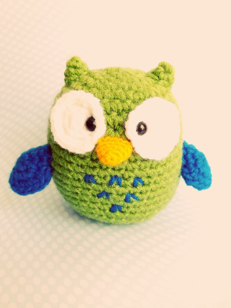 Owl Amigurumi -Free Amigurumi Pattern | Owl crochet patterns ... | 1024x768