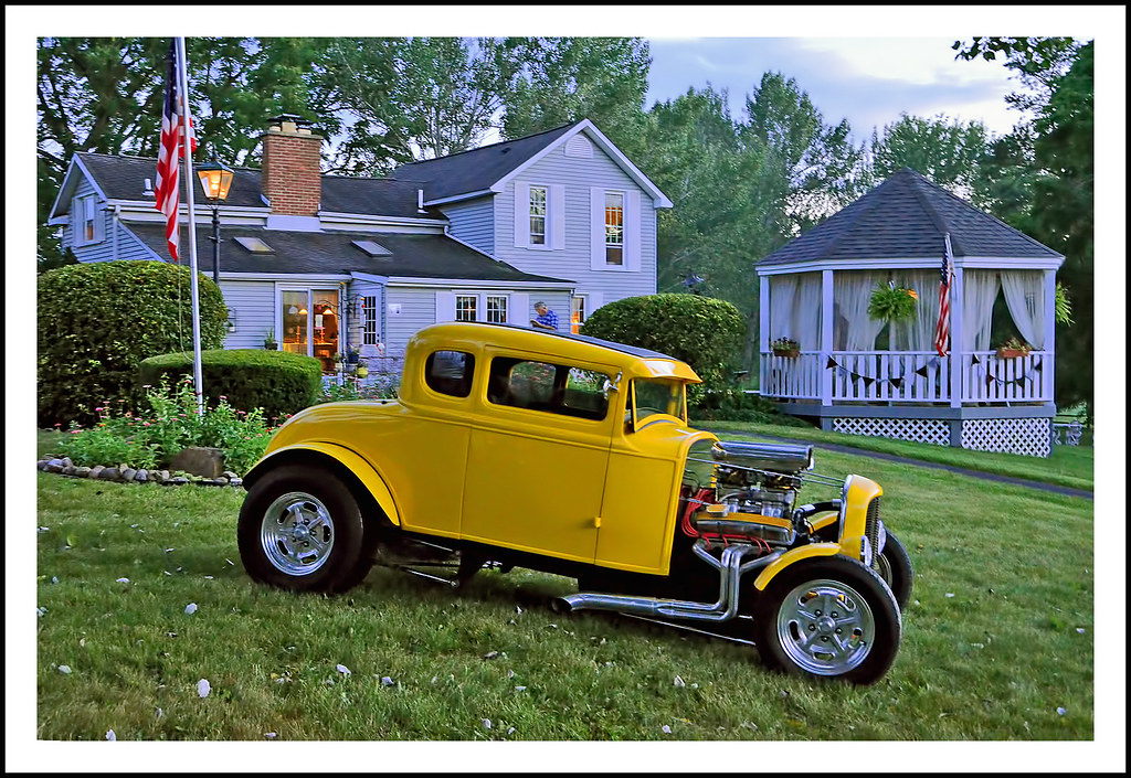 1931 Ford Model A Street Rod Coupe | Dee and Nigel are a cou… | Flickr