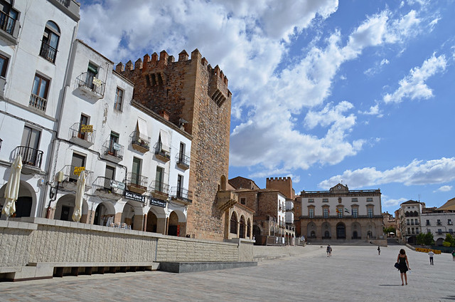 Plaza Mayor, Caceres, Extramadura