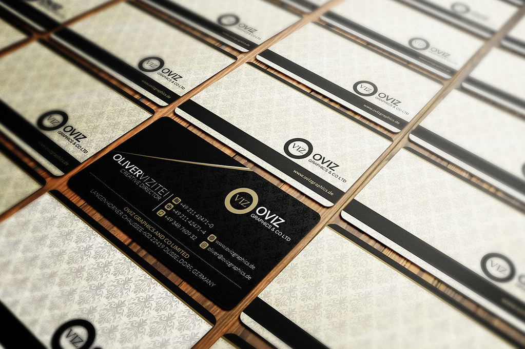 Classy Business Card Template Download The Template Here Flickr