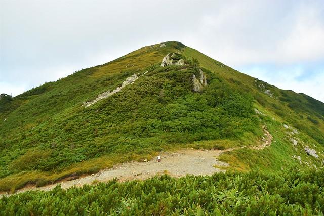 北アルプス・大日岳
